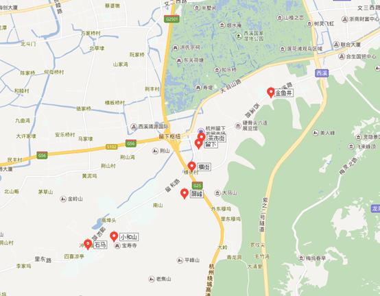 杭州留下镇地图