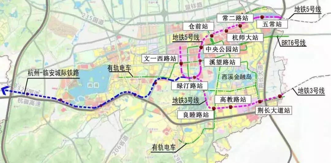 (滨江西溪之星交通规划图)