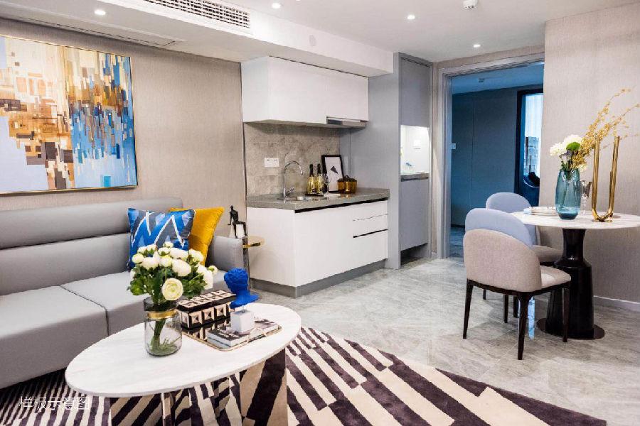 房子是loft结构 为你塑造两个独立的私密空间 不仅胜过不少酒店式公寓